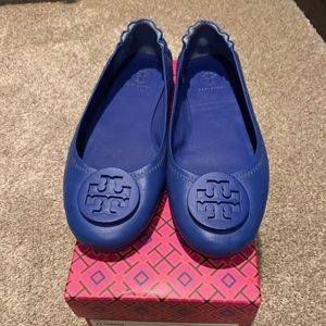 Tory Burch ballet flats. Worn once for two hours.